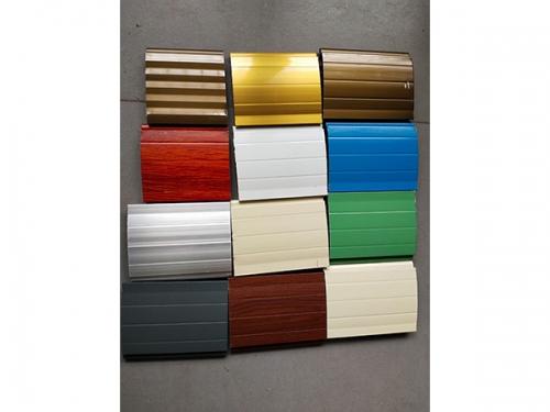 彩色卷闸门材料